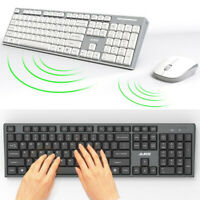 2.4GHz Cordless Wireless Keyboard and Mouse Set For MAC PC Laptop Tablet