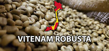 5 LBS WET POLISHED VIETNAMESE VIETNAM UNROASTED GREEN COFFEE BEANS - ROBUSTA
