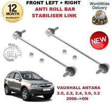 FOR VAUXHALL ANTARA 2006-->ON FRONT LEFT + RIGHT ANTI ROLL BAR STABILISER LINK
