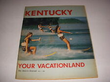 COURIER JOURNAL MAGAZINE, May 1, 1966, KENTUCKY: YOUR VACATIONLAND, 104 PAGES!