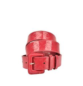 Armani Jeans Womens T5114 Belt Leather Pink Size 92 CM