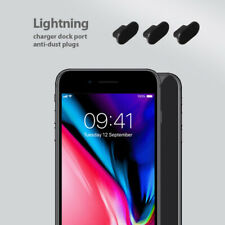 3 set pack iPhone 8 Charging Port Cover Lightning Plug Anti Dust Cap