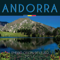 Andorra 3,88 Euro 2017 KMS Kurssatz 1 Cent bis 2 Euro Stempelglanz ST im Blister