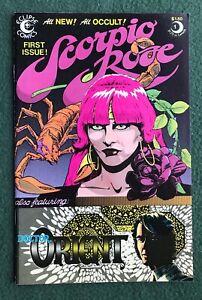 Scorpio Rose #1 Eclipse Comics Bronze Age Marshall Rogers Steve Englehart vf/nm
