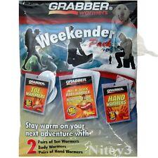 Grabber Weekender Toe-Hand-Body Warmer Pack-Variety 6-Pack