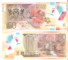 Trinidad & Tobago - 50 Dollars - UNC Polymer currency note - 2015
