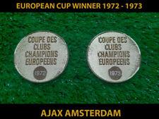 European Cup Ajax gold medal replica final winner 1972 1973 Champion League