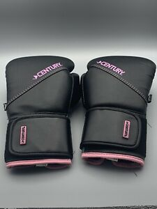 Century FloMotion 10oz Black and Pink Women's Boxing Gloves