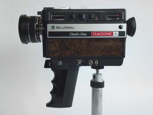 Vtg Bell & Howell Filmosonic XL Model 1234 Focus-Matic Super 8 Movie Camera