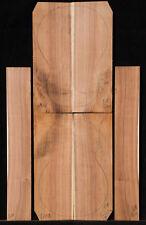 Black Acacia Ukulele Set #120, Baritone Size Back Top and Sides