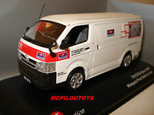 J-COLLECTION JC171 TOYOTA HIACE MALAYSIA POST DELIVERY VAN 2008 au 1/43°