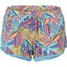 O'neill Shorts de Marche Short Lw Imprimé Jersey Shorts Bleu Clair Motif Floral