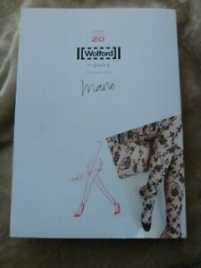 WOLFORD Marie Black Tights. Size Small.
