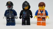 Lego the Movie Emmet Wyldstyle Hood Robo Swat Hat Minifigure Lot Parts