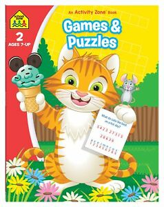 Games and Puzzles: An Activity Zone Book