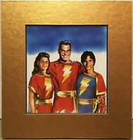 SHAZAM / CPT. MARVEL Family By ALEX ROSS Pro Matted Print Kingdom Come DC Comic