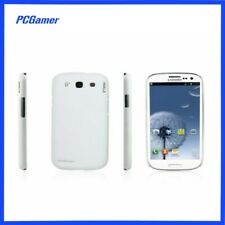 Galaxy S3 Soft Coated Case Cover Skin for Samsung   - White