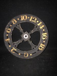 Antique Elevator Floor Indicator Dial