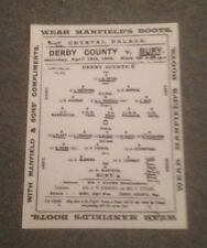 1903 FA CUP FINAL - DERBY COUNTY V BURY - COPY -