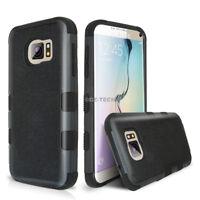 For Samsung Galaxy S8/Plus S6 Edge/Plus Tuff Hard Hybrid Rubber Phone Case Cover