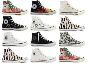 Chaussures pour Femme Filles Converse All Star Baskets Casual Hautes Marche