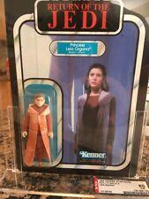 1983 Star Wars ROTJ Princess Leia  Bespin 77 Back A AFA 80 Nm
