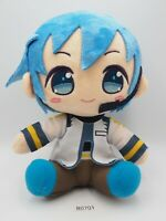 "Hatsune Miku B0701 Kaito Vocaloid Taito Plush Stuffed 8"" Toy Doll Japan"