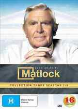 Matlock - 16 Disc - Seasons 7 to 9 - Andy Griffith - Australian Release