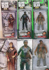 The Walking Dead Carol Tyreese Bob Action figure Series 8 VENDUTI SINGOLARMENTE