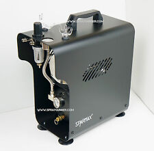 compressor for airbrush Sparmax TC-620X up to 32 LPM with auto-off function