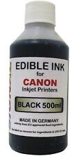 BLACK EDIBLE INK FOR CANON PRINTERS - 500ml