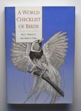 A WORLD CHECKLIST OF BIRDS Burt Monroe & Charles Sibley HC/DJ Bird-watching - D
