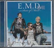 E.M.D. - A state of mind CD Album 11TR Europop 2008 SWEDEN  DANNY SAUCEDO