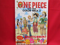 One Piece 'COLOR WALK 2' illustration art book
