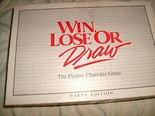 WIN LOSE OR DRAW, BOARD GAME .1988