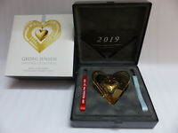 Georg Jensen Christmas Collectibles Weihnachtsmobile 2019 GOLD Art. 10015293 OVP