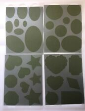 New 2 Creative Memories Star//Heart//Geometric Templates for Tracing /& Cutting