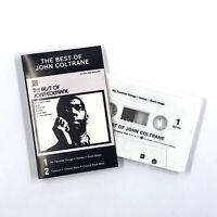 JOHN COLTRANE The Best Of Cassette Tape Jazz Rare