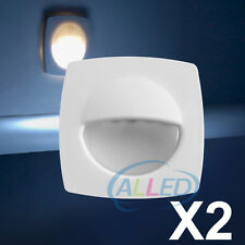 2X12V Boat LED Courtesy Light Deck/RV/Marine/Stairway/Onboard Accent Lighting CW