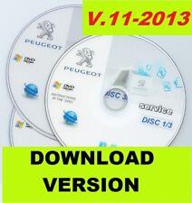 Peugeot service box 11/2013 workshop service manual multilanguage TIS EPC WDS