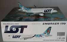 JC Wings XX2931 Embraer ERJ-170TD LOT Polish Airlines SP-LDH in 1:200 scale