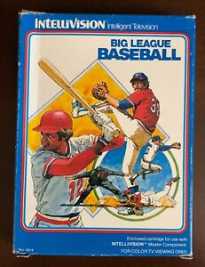 Big League Baseball from Intellivision Inc for Intellivision