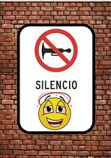 LAS SEÑALES DE TRÁFICO Novelty Fun Spanish Road Signs Novelty Wall Plaque