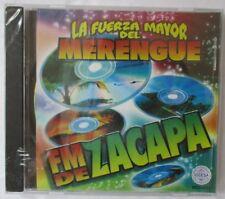 FM DE ZACAPA LA FUERZA MAYOR DEL MERENGUE CD - BRAND NEW