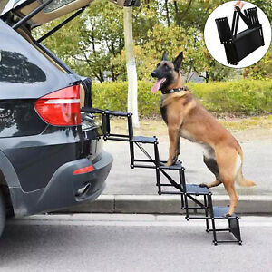 Lightweight Foldable Ramp Folding Pet Dog Car Puppy Boot Acces Step Ladder Stair