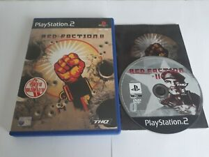 Red Faction II 2 Shooter Game For Sony Playstation 2 PS2 Worldwide Post! THQ