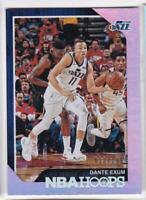 2018-19 Panini NBA Hoops #/199 Dante Exum Utah Jazz Basketball Card