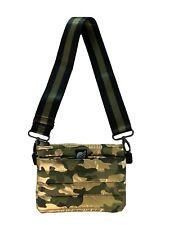 Think Royln Camo Bum Bag Crossbody Handbag Fanny Pack Green