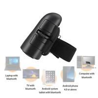 Mini Wireless USB Finger Mouse Optical Handheld Trackball Laptop fr Ring E9V8