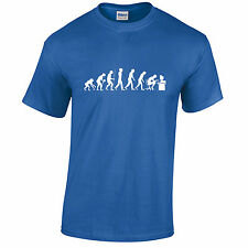 EVOLUTION OF GEEK T Shirt Mens Funny Nerd Computer Science Gamer Present Theory